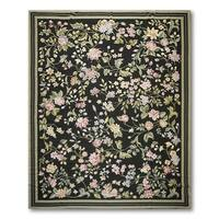 Asmara Country Cottage Needlepoint Aubusson Flat Weave Area Rug (9'x12')