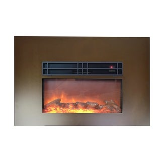 "Y-Décor True Flame 30""electric fireplace insert"
