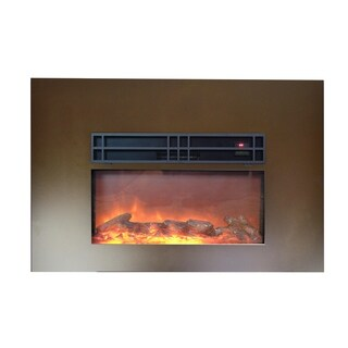 "Y-Décor True Flame 24"" electric fireplace insert"