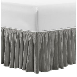 Serenta Tivoli Ikat and Melody Pleated Matching 18-inch Drop Bed Skirt (2 options available)
