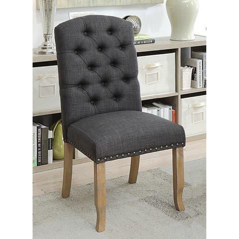 Matheson Rustic Dining Chairs (Set of 2) by FOA