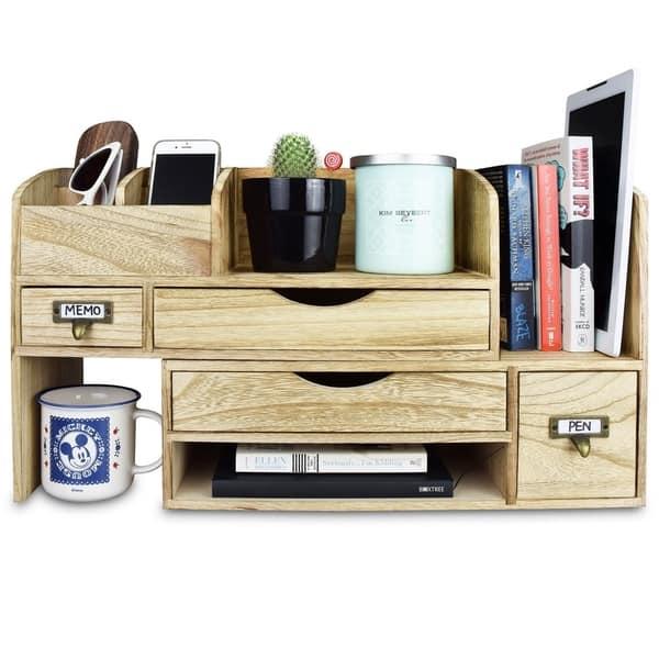 Adjule Wooden Desktop