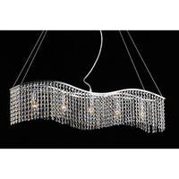 Clay Alder Home Jericho Crystal 5-light Chandelier