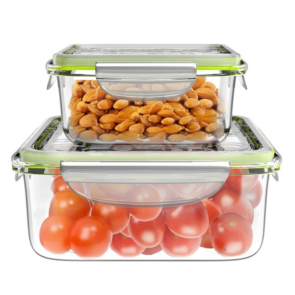 Shop Rectangle Set Storage Containers On Sale Free Shipping On