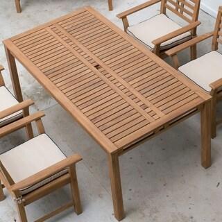 Cambridge Casual Belize Teak Rectangular Dining Table