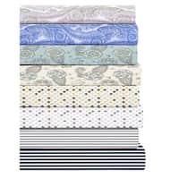 Finley Luxury Cotton Printed 4-piece Sheet Set