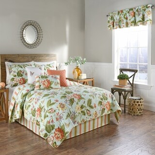 Waverly Laurel Springs Opal Reversible Quilt Collection