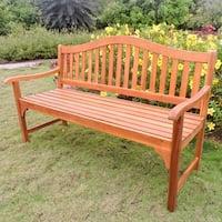 Royal Fiji Acacia 5-Foot Garden Bench