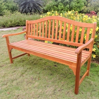Link to International Caravan Royal Fiji 5-Foot Garden Bench Similar Items in Patio Furniture