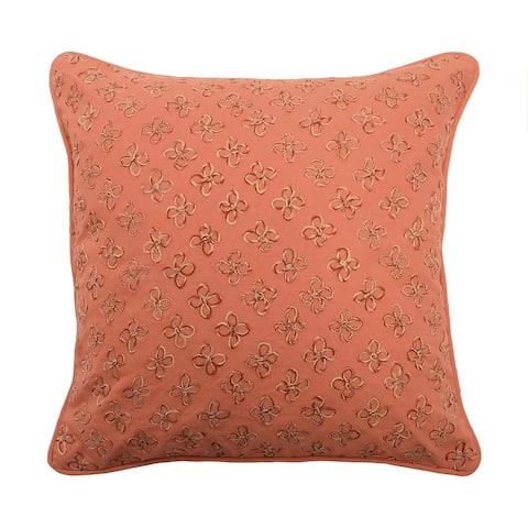 Waverly Laurel Springs Opal Applique Pillow