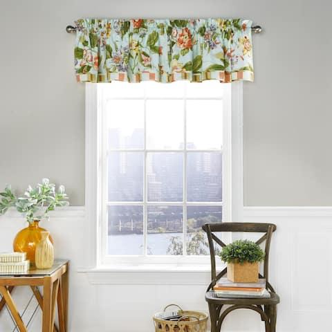 Waverly Laurel Springs Opal Window Valance - 52x16