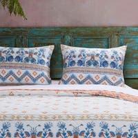 Aleena Ivory Pillow Sham Set (Set of 2 Shams)