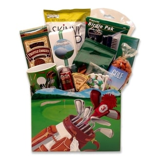 Link to Gift Basket Drop Shipping Golf Delights Gift Box - Medium Similar Items in Unique Gift Baskets & Sets