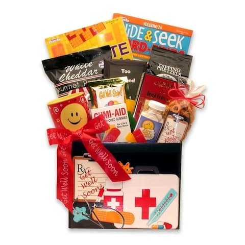 Gift Basket Drop Shipping Doctor's Orders Get Well Gift Box - Large