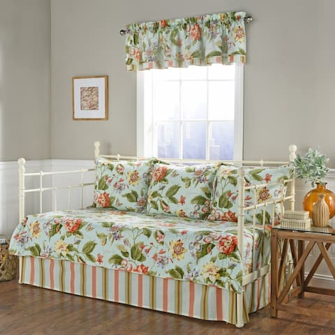 Waverly Laurel Springs Opal Daybed Reversible Quilt Collection