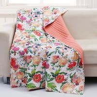 Barefoot Bungalow Blossom Throw