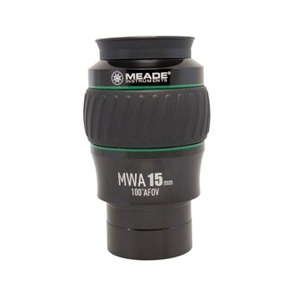 Meade Instruments Eyepiece, 100 Degree, MWA 15mm, 2-Inch