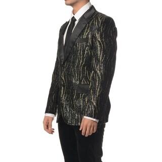 Satin Collar with Shine pattern Dinner Jacket