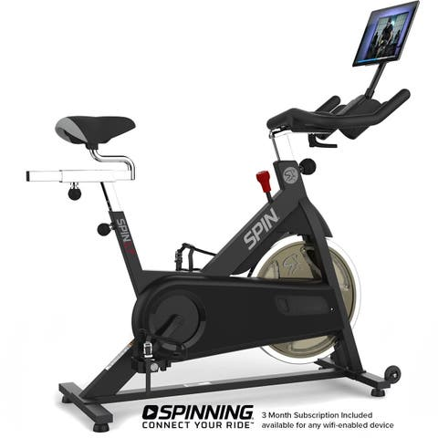 SPIN L7 Spin Bike with 4 DVDs
