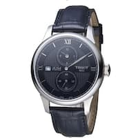 Tissot Le Locle Automatic Leather Mens Watch T0064281605802