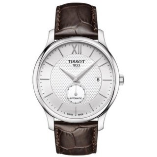 Tissot Tradition Automatic Leather Mens Watch T0634281603800