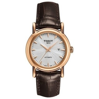 Tissot Couturier 18kt Rose Gold Automatic Ladies Watch T9070077603100