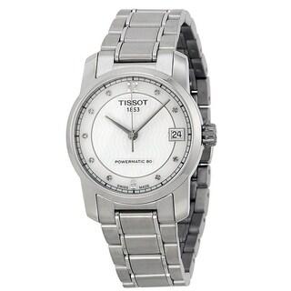 Tissot T-Classic Automatic Titanium Ladies Watch T0872074411600