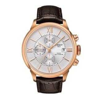 Tissot Ballade Powermatic 80 Leather Mens Watch