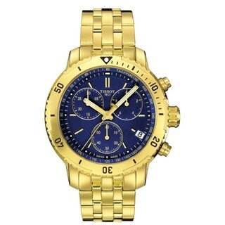 Tissot PRS 200 Chronograph Gold-tone Stainless Mens Watch T0674173304101