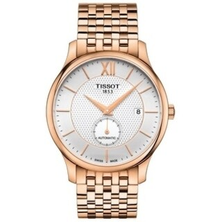 Tissot Tradition Automatic Rose Gold-tone Stainless Steel Mens Watch T0634283303800