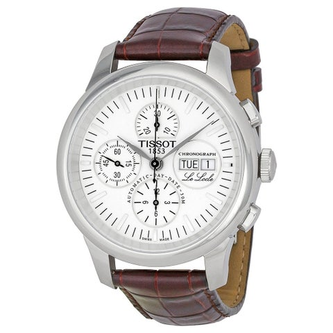 Tissot Le Locle Leather Automatic Chronograph Mens Watch