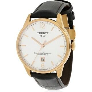 Tissot Chemin Des Tourelles Leather Automatic Mens Watch