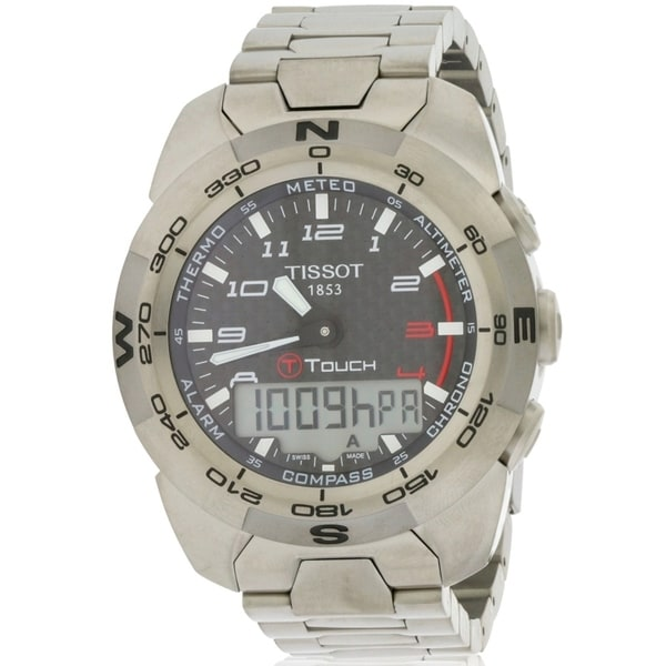 a6b171e1071 Shop Tissot T-Touch Expert Mens Watch - Ships To Canada - Overstock ...