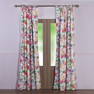 Link to Blossom Curtain Panel Pair Similar Items in Window Treatments