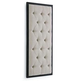 Tufted Wall Panel Display (Oatmeal Linen)