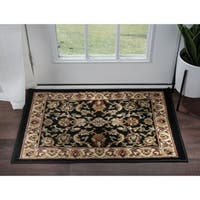 Alise Rugs Hamilton Traditional Oriental Scatter Mat Rug - 2' x 3'