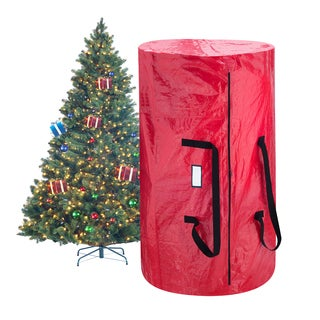 Red Tree and Wreath Combo Bag