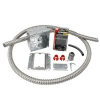 WarmlyYours Electrical Rough-in Kit Double Gang Box with 1 Conduit