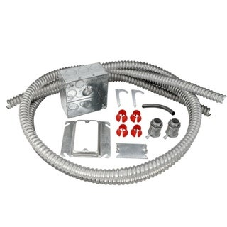 Electrical Rough-in Kit Double Gang Box with 2 Conduits