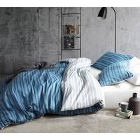 BYB Faded Stripes - Blue Duvet Cover