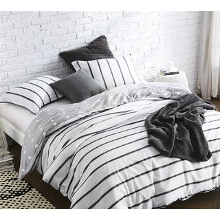 BYB Black Ink Duvet Cover