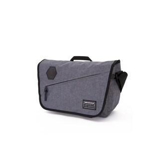 SwissGear Heather Gray 16.5 inch Messenger Bag