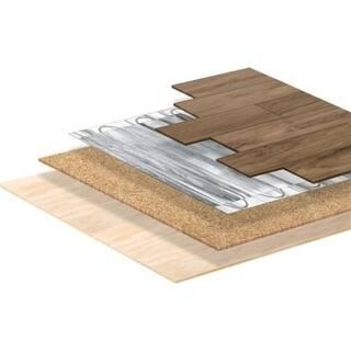 Shop Warmlyyours Cork Insulating Underlayment 24 X 36 X 6mm