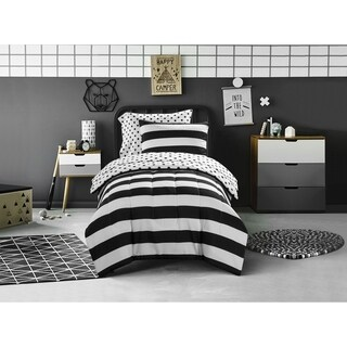 Mini Mod Striped Comforter Set
