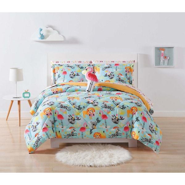 My World Party Animals 3-piece Comforter Set