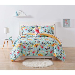 Laura Hart Kids Party Animals 3-piece Comforter Set