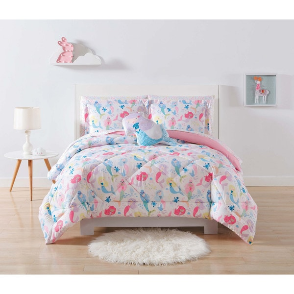 My World Mermaids 3-piece Comforter Set
