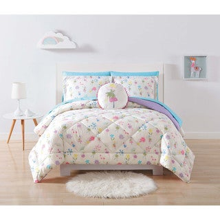 Laura Hart Kids Garden Fairies 3-piece Comforter Set
