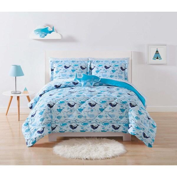 My World Deep Blue Sea 3-piece Comforter Set
