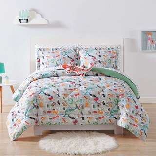 Laura Hart Kids Animal Alphabet 3-piece Comforter Set (2 options available)
